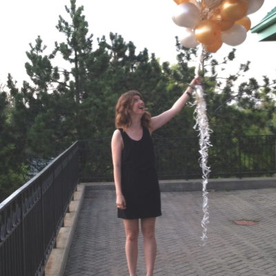 outfit: balloons