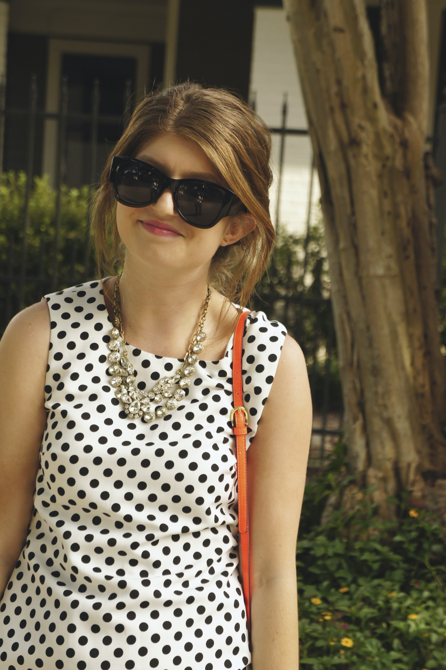 Outfit: Itty Bitty Polka Dot