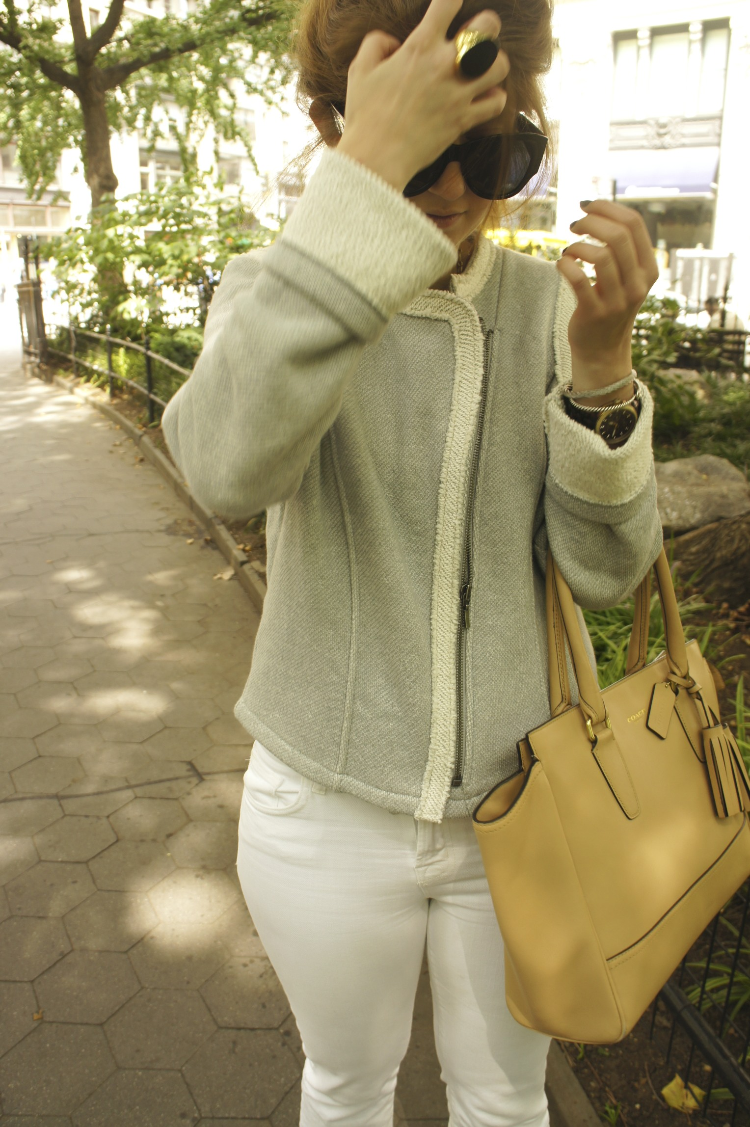 Outfit: terry pant suit
