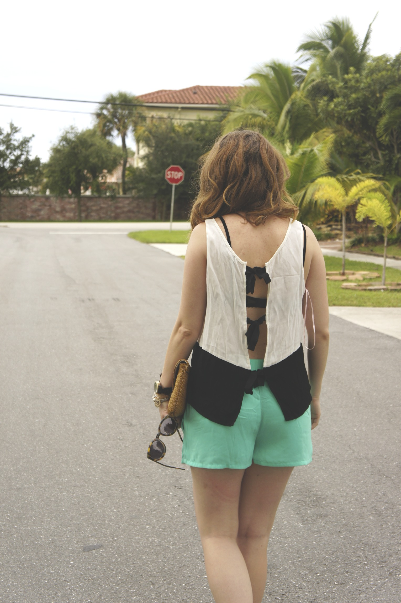 Outfit Post: Drawstring Shorts