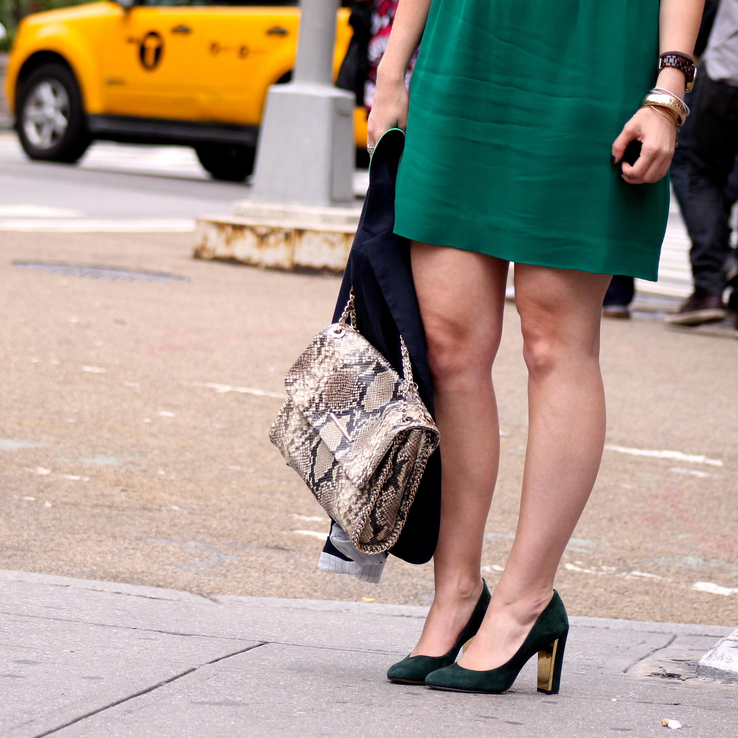 outfit: little green dress