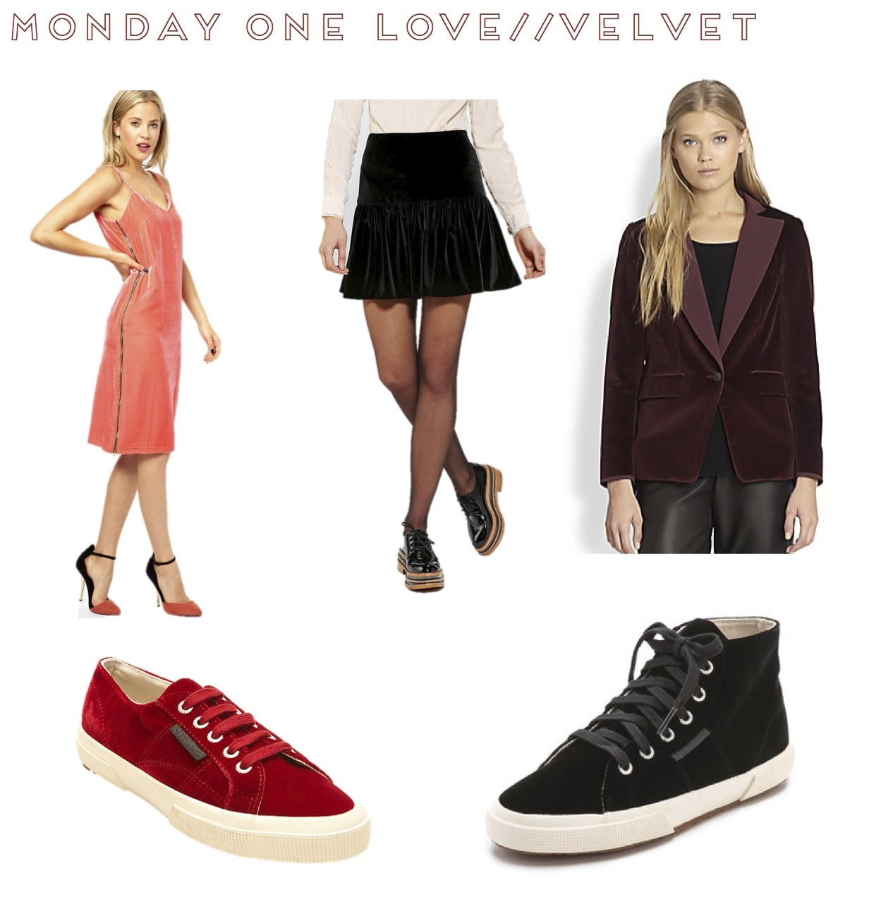monday one love velvet