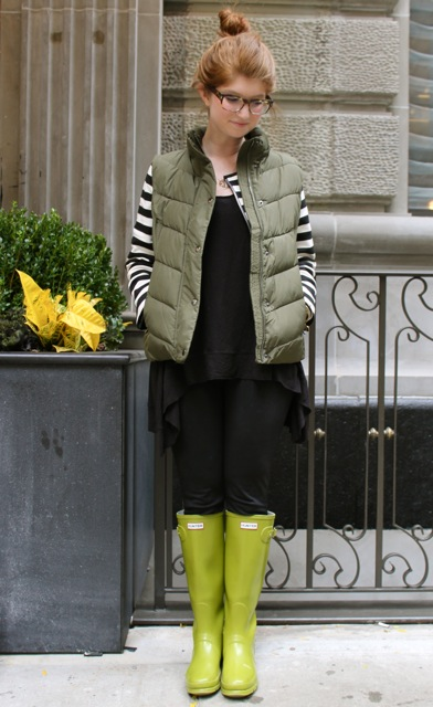 Black Hunter Rain Boots Outfits