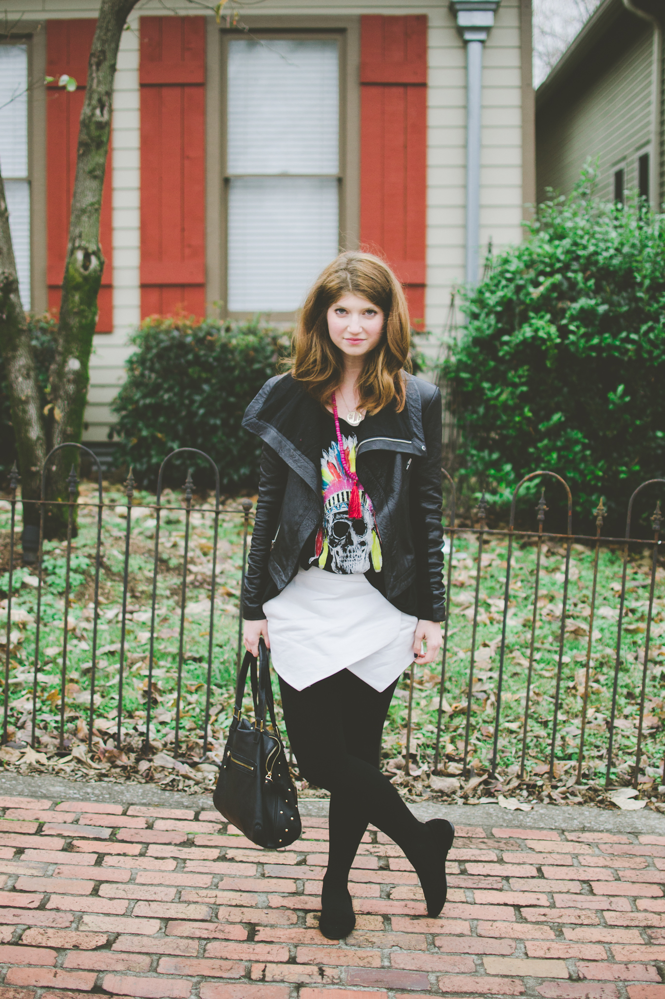 Outfit: Leather Skulls