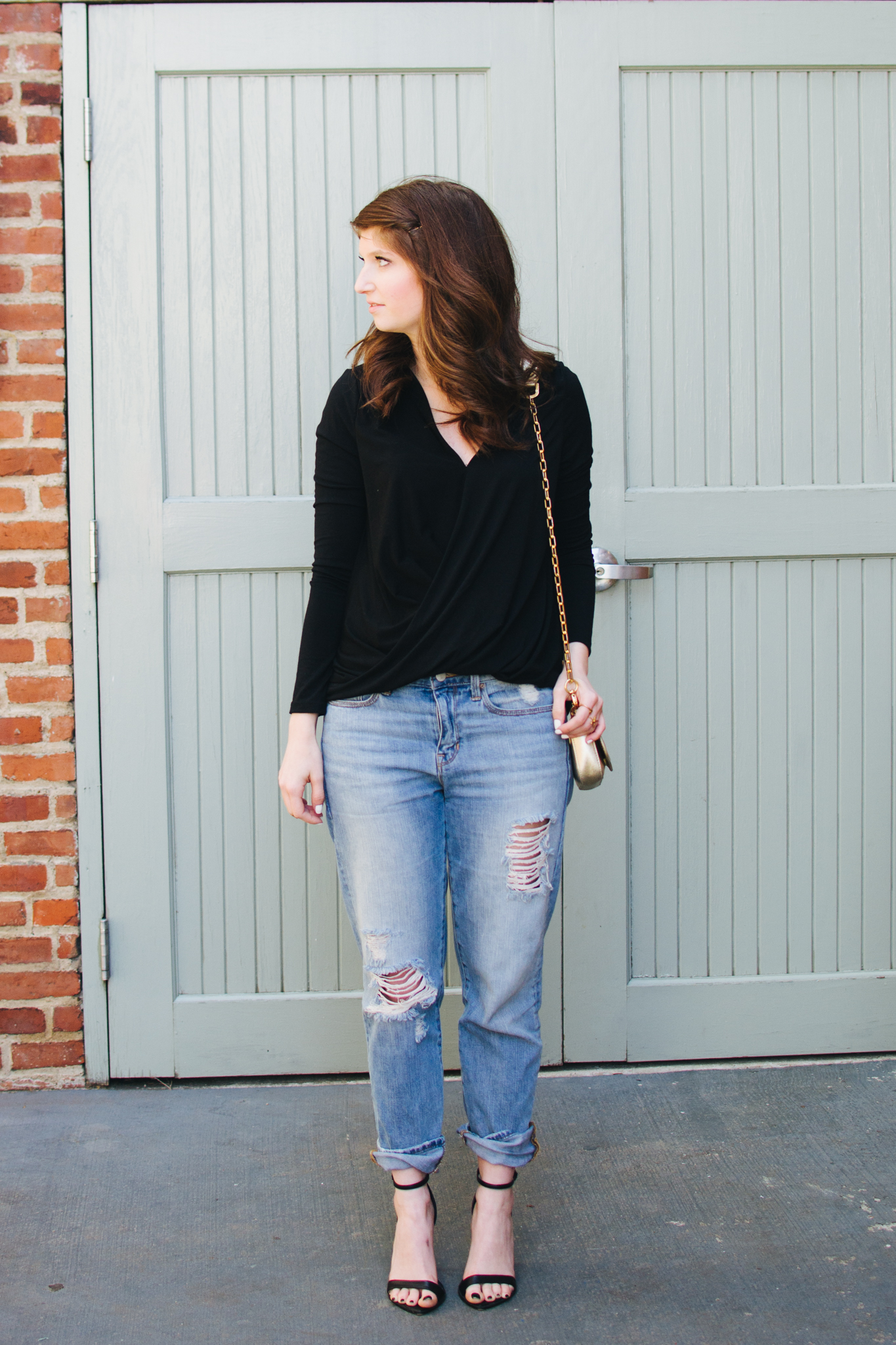 outfit: the perfect black top