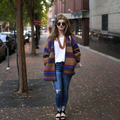 Outfit: Alpaca Jacket