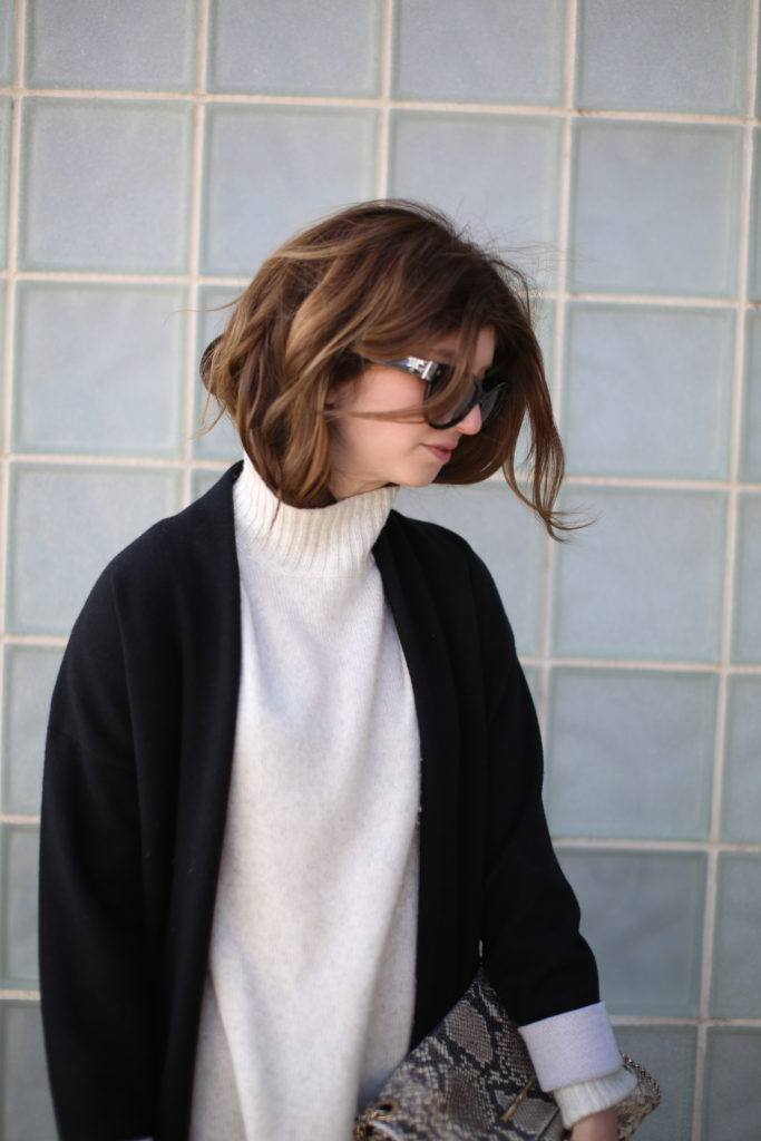 theory duster sweater
