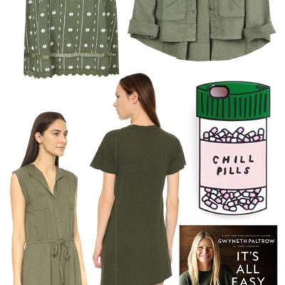 crushing on: army green