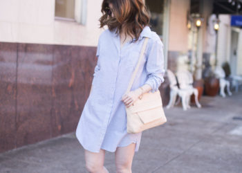 Rails shirt dress