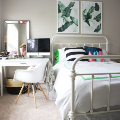 Bedroom makeover with Havenly