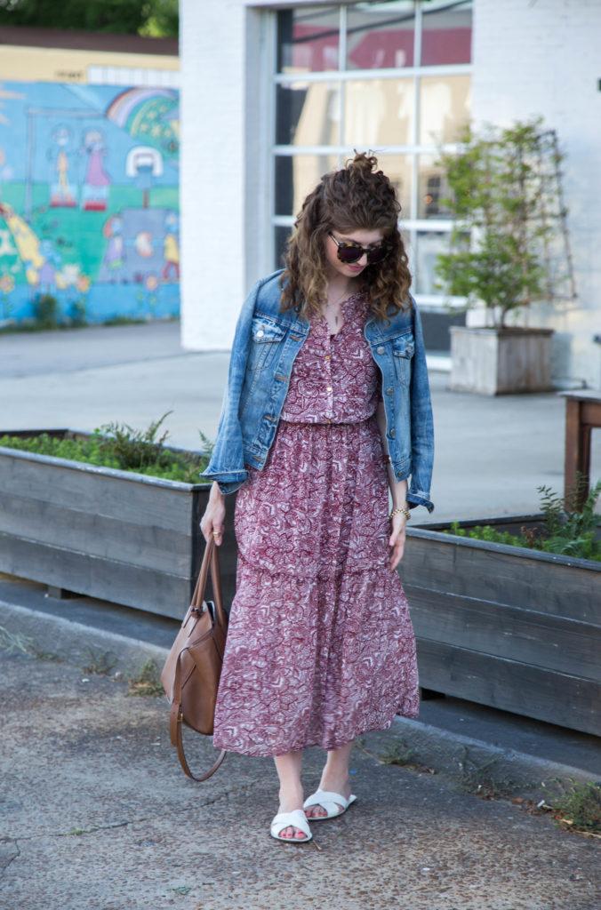 WWW boho midi dress