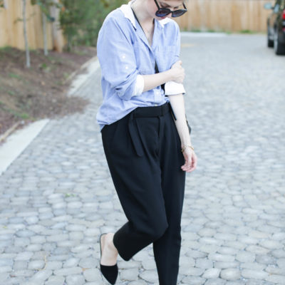 outfit: comfortable workwear