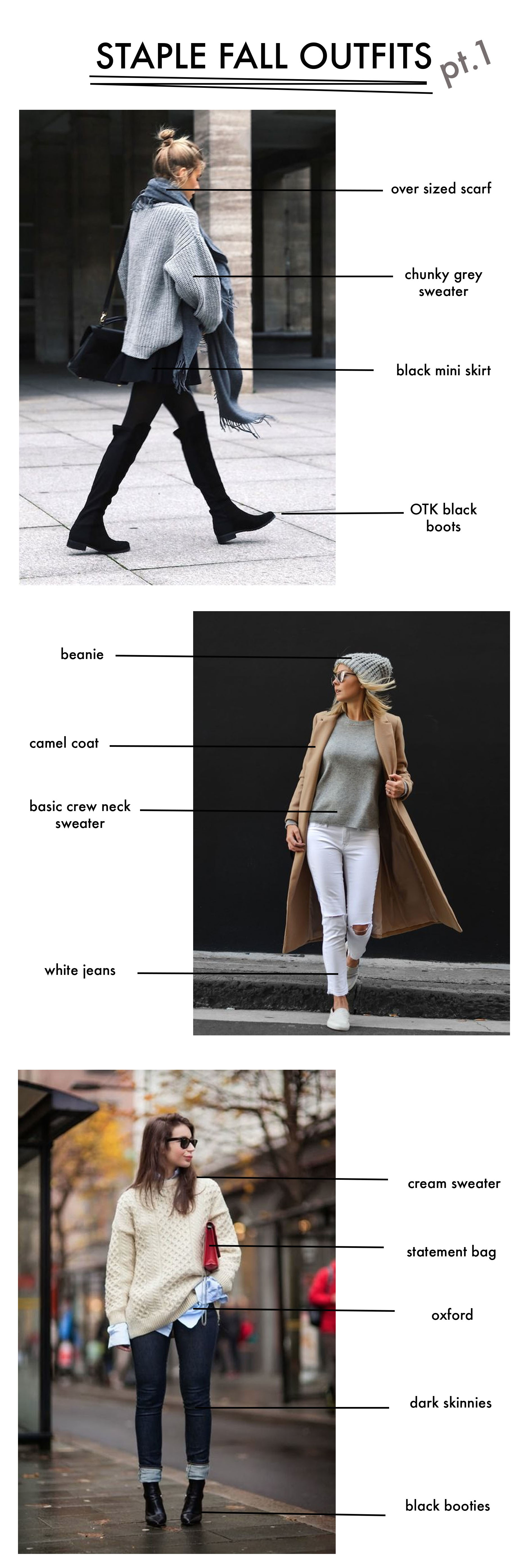 Basic Fall OUtfits pt.1