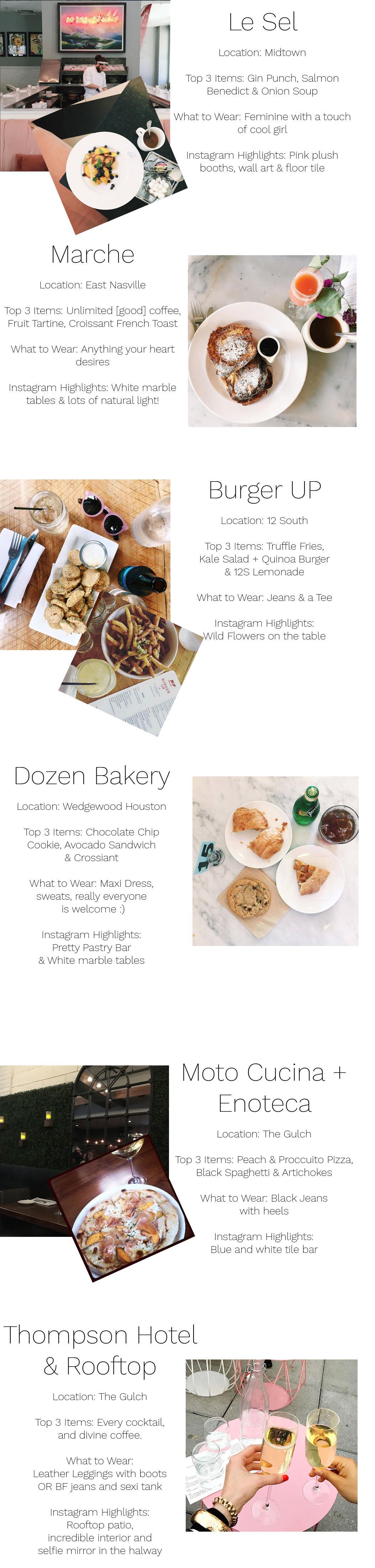 nashville food guide