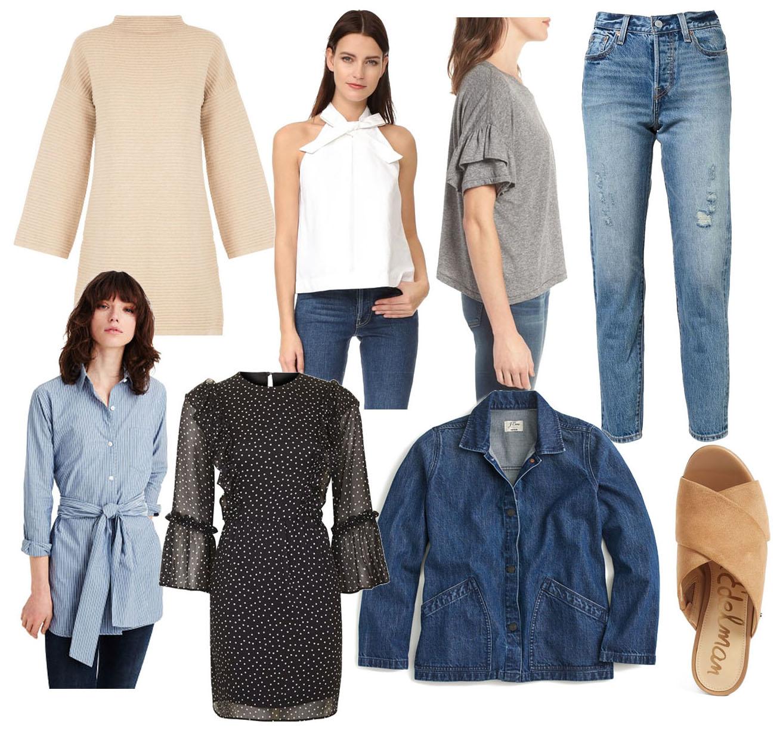 spring transition - winter spring fashion