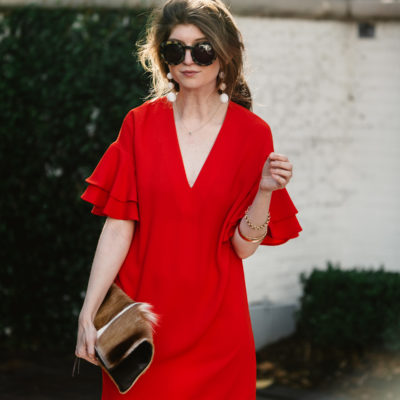 outfit: little red dress