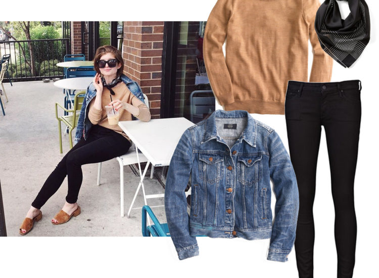 easy casual outfit, simple casual fall outfit