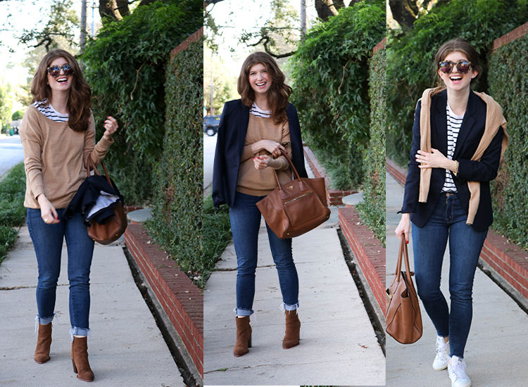 How to Layer all your basics for fall