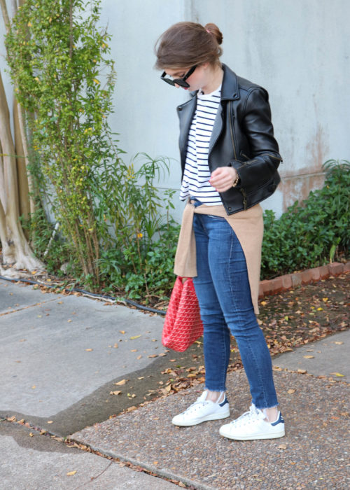 how to layer leather jacker, Moto leather jacket, fall layers ,how to layer for fall