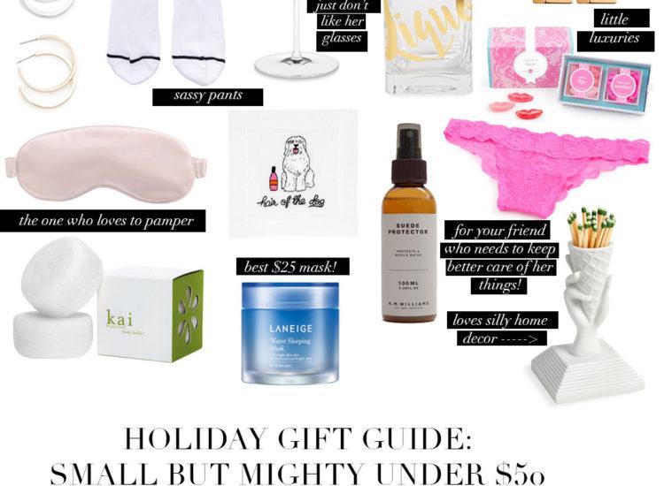 under $50 gift guide, gift guide 2017, gift guide under $50