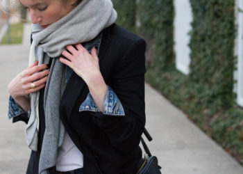 Denim and Blazer Layers