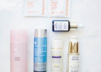 chemical exfoliant, how to use acids in your skincare