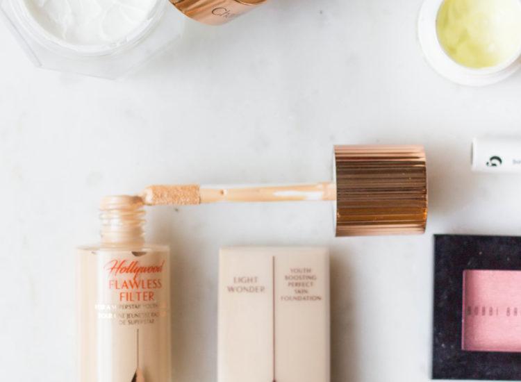 spring makeup, charlotte tilbury makeup, magic cream, glossier