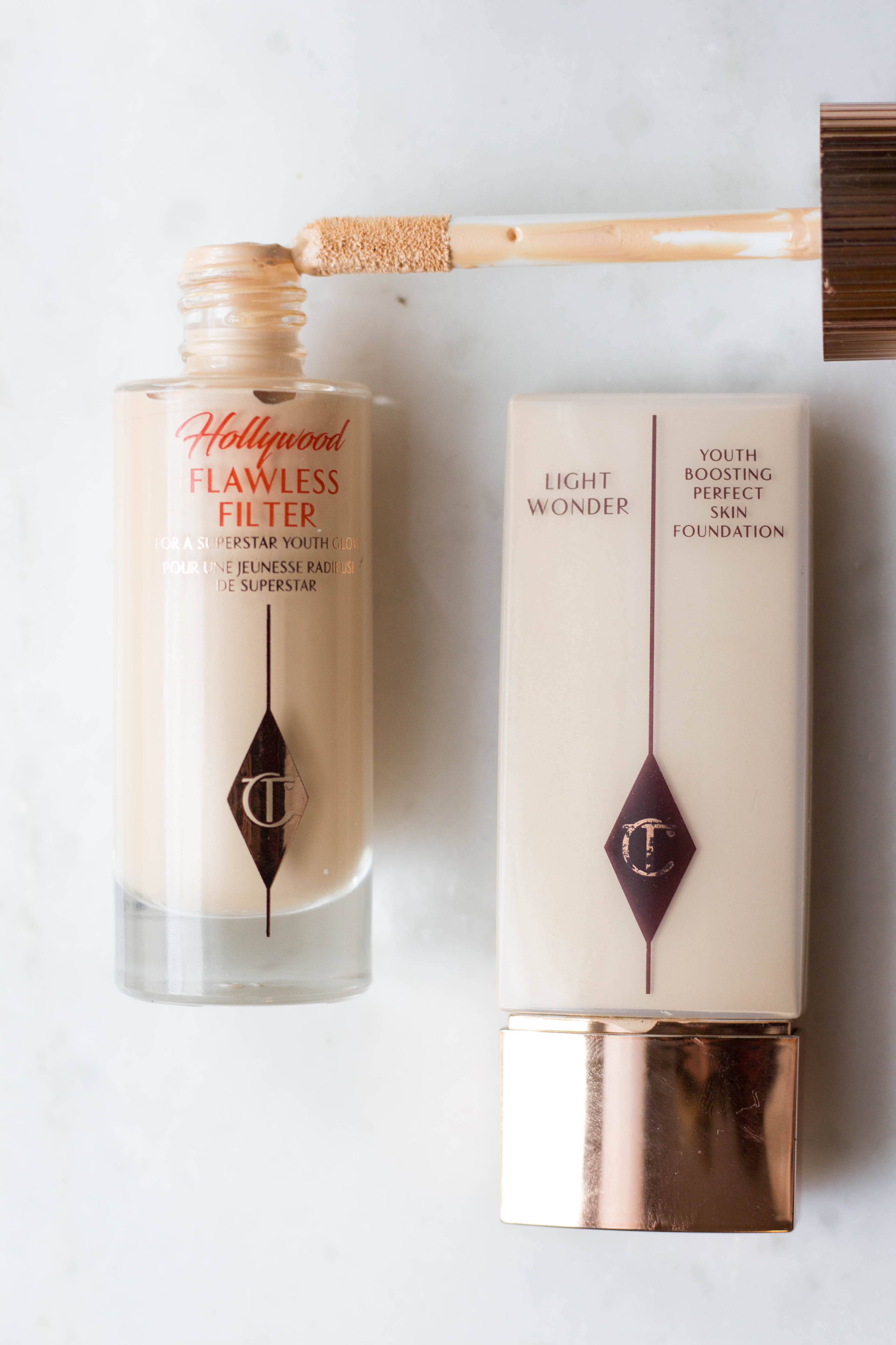 spring makeup, charlotte tilbury makeup, magic cream, glossier