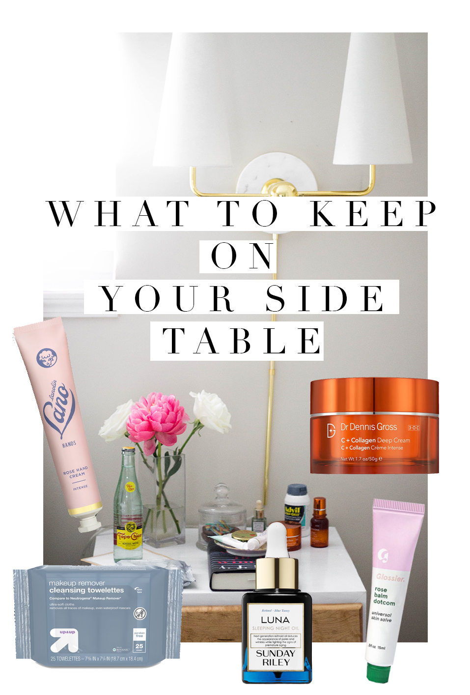 What is on your nightstand?